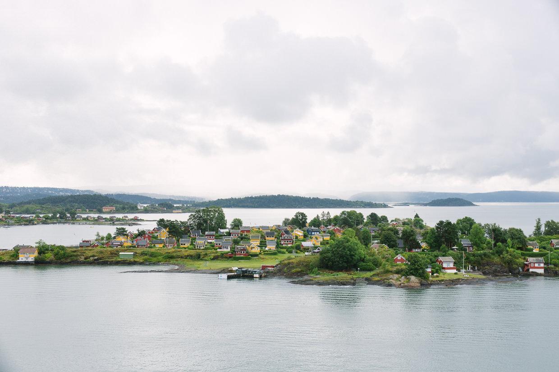 Oslo Kreuzfahrt Color Line Fjord