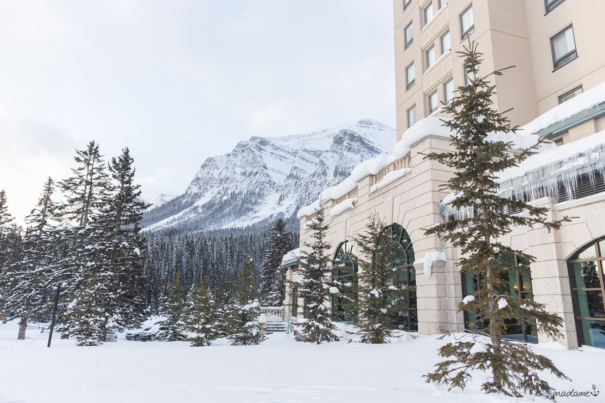 Lake Louise Kanada Alberta Chateau Fairmont Reisebericht Winter