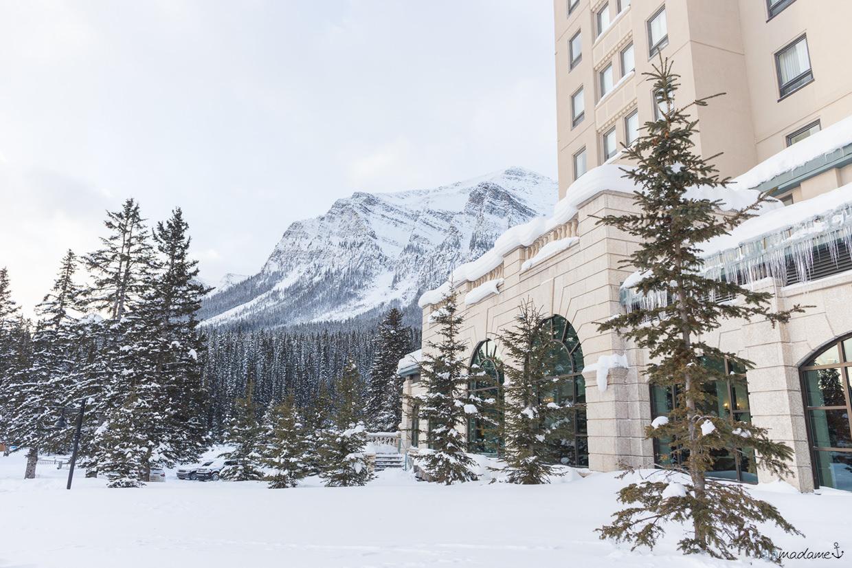Lake Louise Kanada Alberta Chateau Fairmont Reisebericht Winter