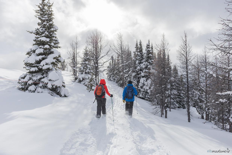 WinterLake Louise Kanada Alberta Reisebericht