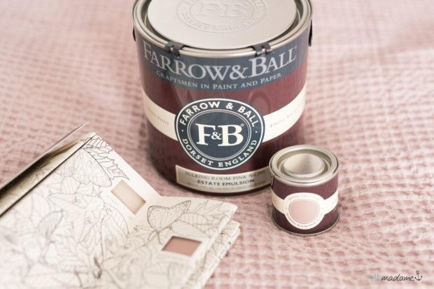 Farrow & Ball Sulking Room Pink