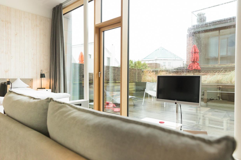 Inselloft Norderney Elbmadame Zimmer Sofa