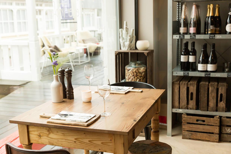 Inselloft Norderney Elbmadame Esszimmer Restaurant