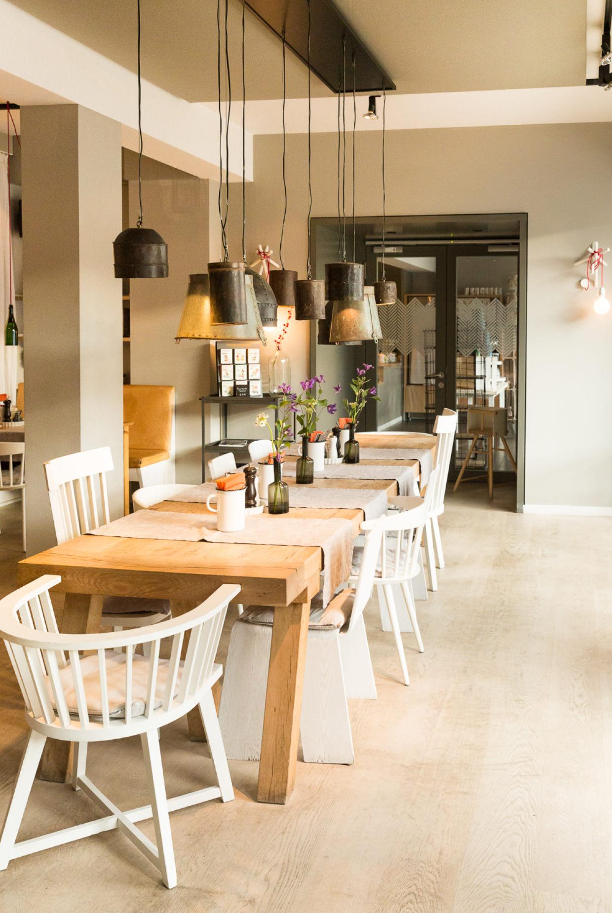 Inselloft Norderney Elbmadame Esszimmer Restaurant Frühstück